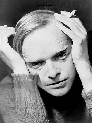 Portrait of Truman Capote (1959) Credit: New York World-Telegram and the Sun staff photographer Roger Higgins