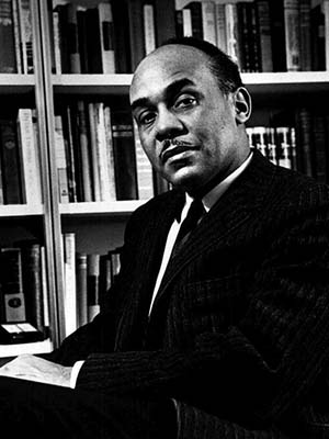 Portrait of Ralph Ellison (1961) Credit: United States Information Agency staff photographer