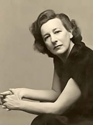 Portrait of Lillian Hellman