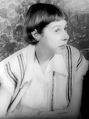 Portrait of Carson McCullers