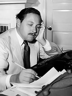 Portrait of Tennessee Williams